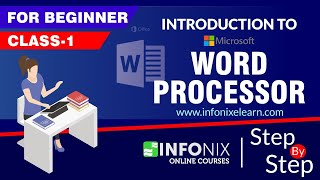 Class 1   Intro to Word Processor   Microsoft Word 2019   Hindi