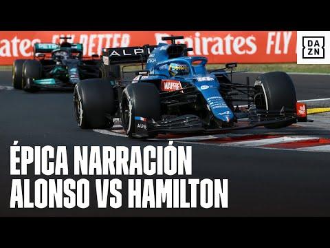 Antonio Lobato y su narración: defensa de Fernando Alonso vs Hamilton en el GP de Hungría F1 2021