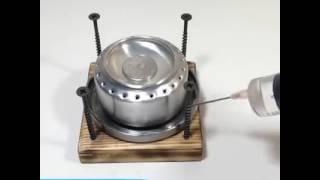 Cara membuat kompor praktis sederhana