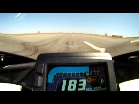 EBR 1190RX At Speed