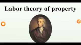 labour theory of property in Hindi/labour theory of private property/labour theory of ownership