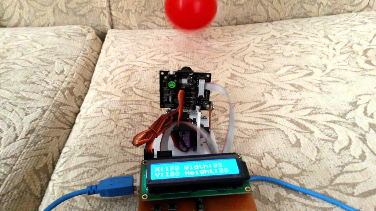 CMUcam5 Pixy Arduino Pan/Tilt Test
