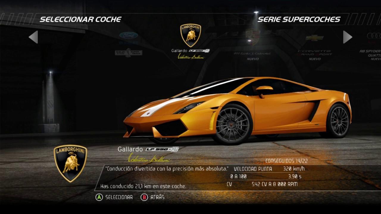 Need for speed hot pursuit ford mustang shelby gt500 vs lamborghini gallardo lp 550 2
