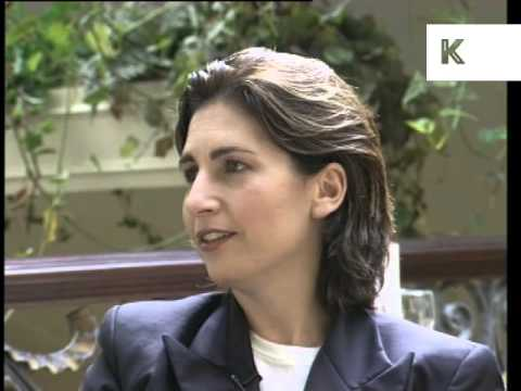 1990s Bobbi Brown makeup interview