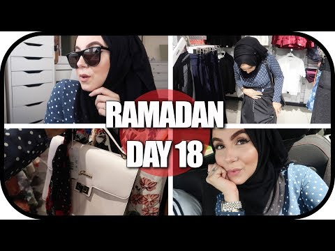 RAMADAN DAY18: TRAVELLING TO LONDON FOR A SHOPPING DAY OUT! AD   Amina Chebbi