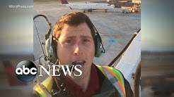 Airport employee steals plane and crashes 30 miles away