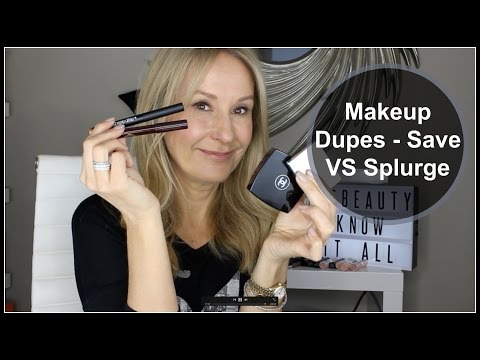 Beauty Dupes - Money Saving Makeup - Nadine Baggott