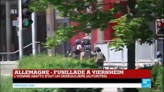 Fusillade à Viernheim en Allemagne : L