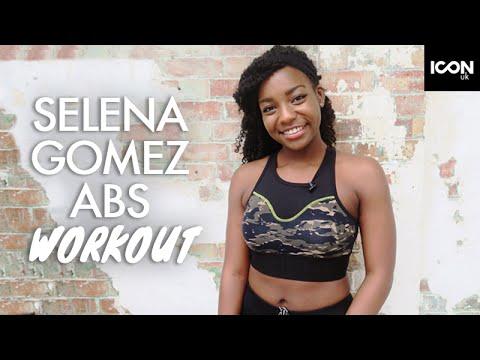 Selena Gomez Inspired Abs  Flat Stomach Workout  Scola Dondo