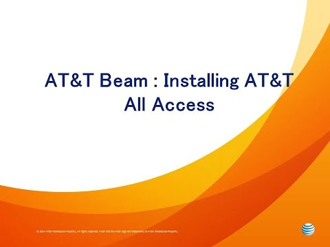 AT&T Beam : Installing AT&T All Access
