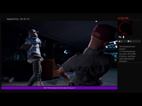 SAWRO_664's beating watchdogs 2 with out dying or going down game play |