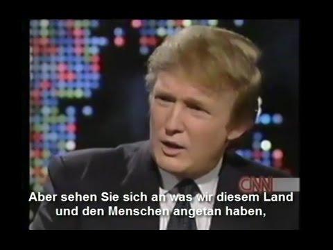 Donald Trump spricht über Kosovokrieg! (Deutsche Untertitel)