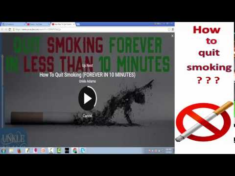 Quit Smoking FOREVER (JUST IN 10 MINUTES)