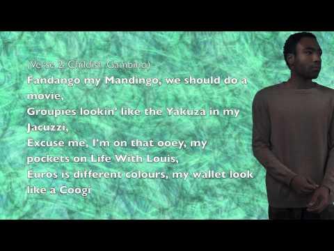 Childish Gambino - Toxic (ft. Danny Brown) - Lyrics