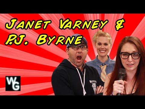 Janet Varney and P.J. Byrne Interview
