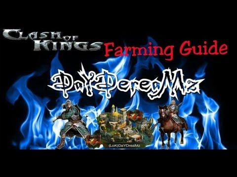 CLASH OF KINGS - Expert Farming Guide