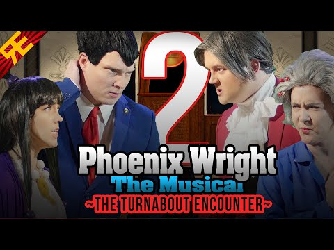 Phoenix Wright the Musical: The Turnabout Encounter [Episode 2]