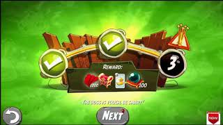 Beat The Daily Challenge King Pig Panic Completed in Angry Birds 2 Monday (2)