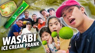 WASABI Ice Cream PRANK On Fam & Friends!! | Ranz and Niana