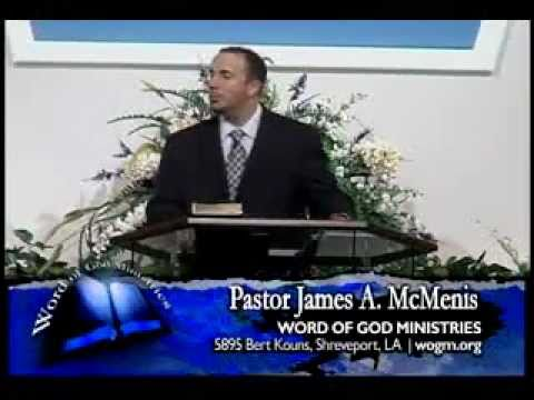 Jesus died for you - accept His gift of salvation - pastor james mcmenis - Word of God
