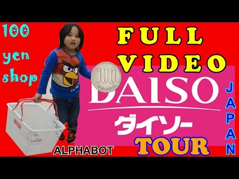 "DAISO TOUR in Japan - ""FULL VIDEO"""