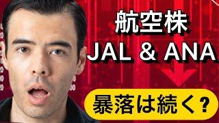 航空株、JAL & ANAの暴落は続くか? アメリカ航空株は買いか?
