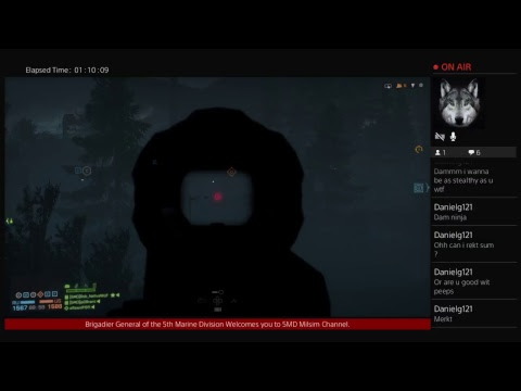 5th Marine Division (Patrol) Live PS4 Broadcast
