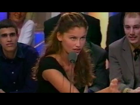 Laetitia Casta crazy amazing in an  on french TV 1999. She was 20 years old