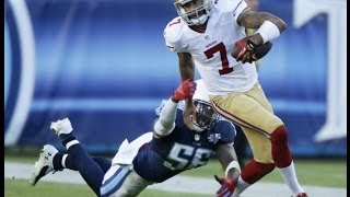 Colin Kaepernick lifts 49ers over Panthers 23 10