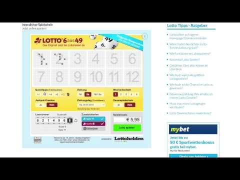 wie spielt man lotto 6 aus 49
