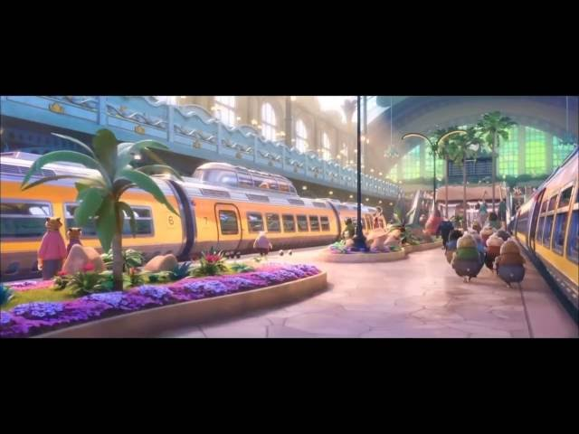 ZOOTOPIA   Train Scene Try Everything  HD 1080