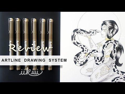Art Review: Artline Drawing System Pens   iiKiui
