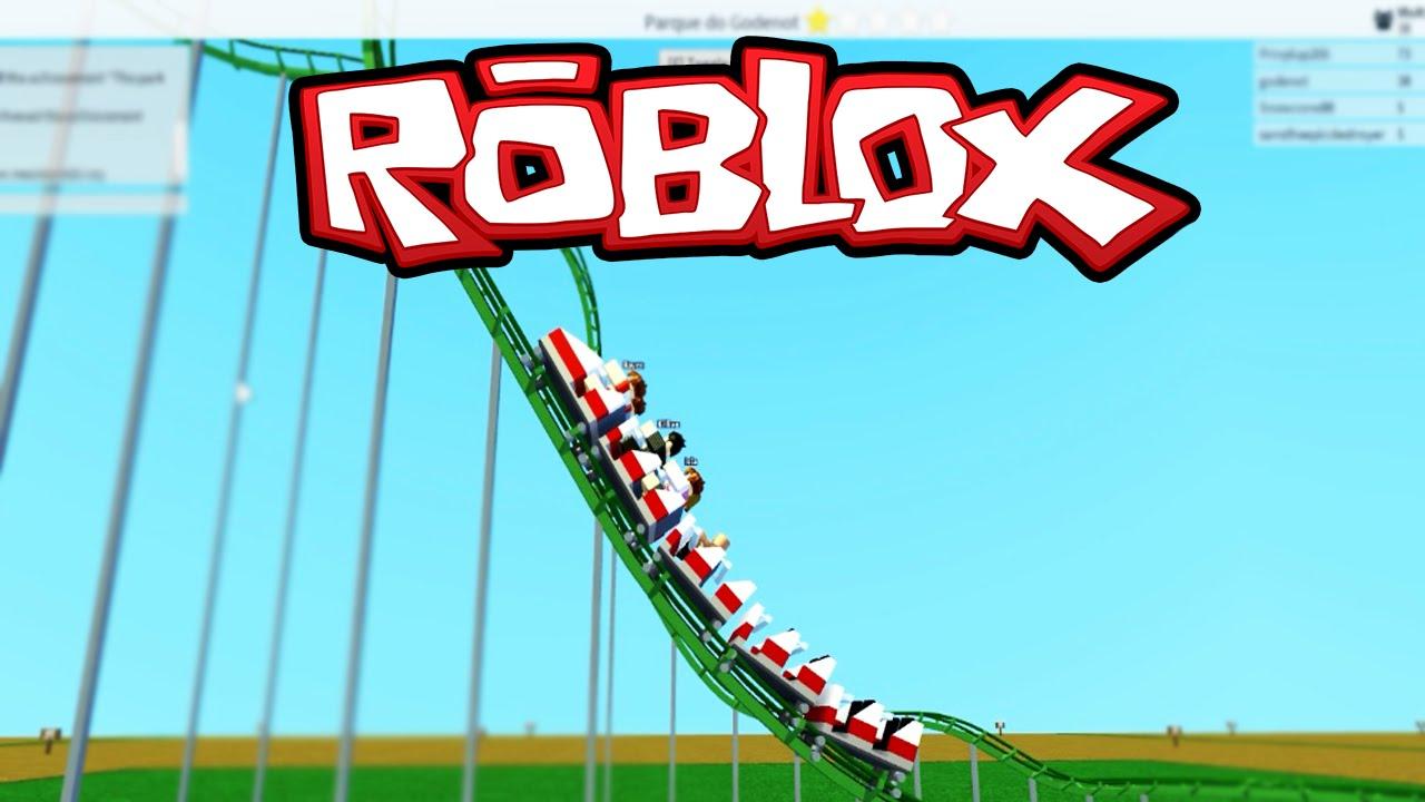 Roblox - A Fantástica Montanha-Russa ( Theme Park Tycoon 2 ) #2 ...