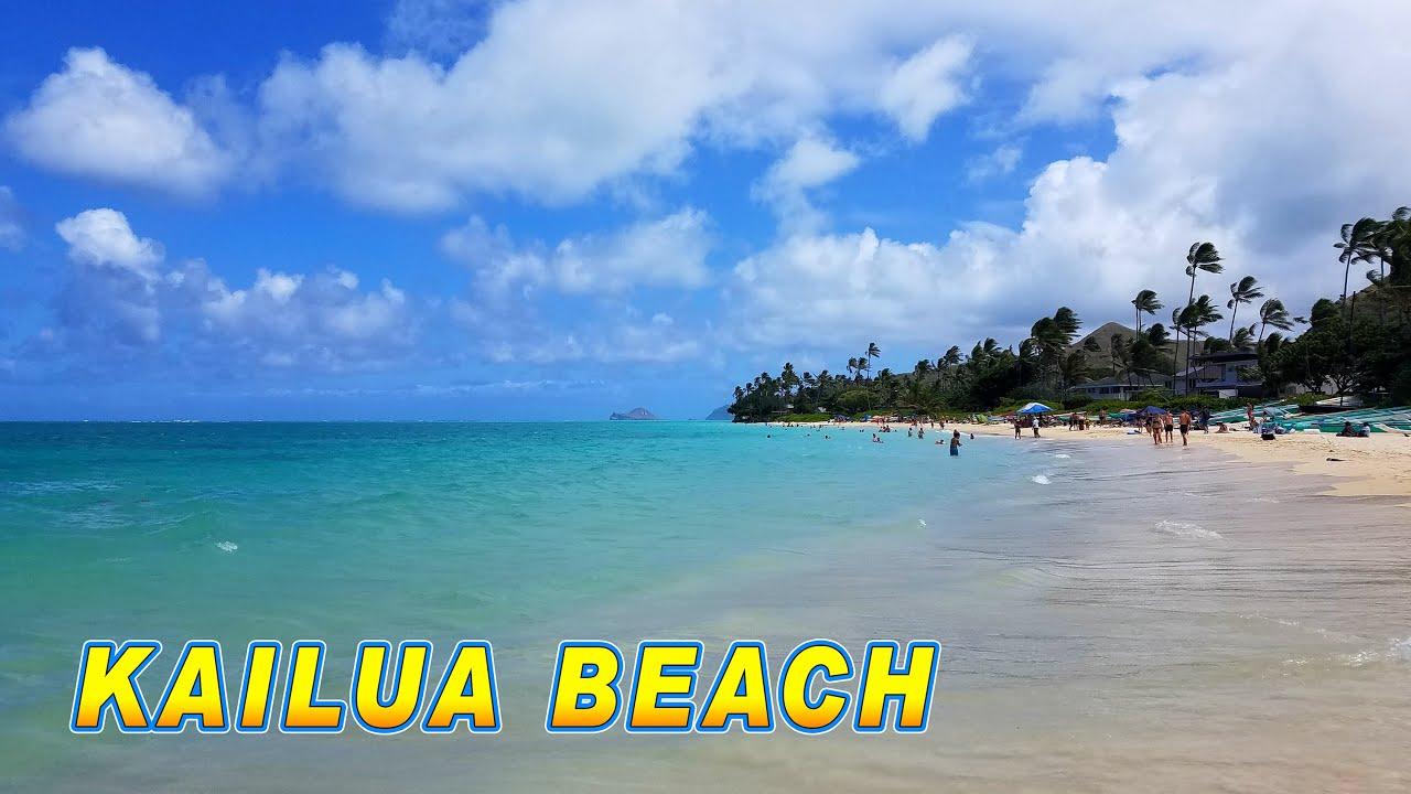 Hawaii Beach Kailua Beach Park Kailua Oahu Hawaii Usa