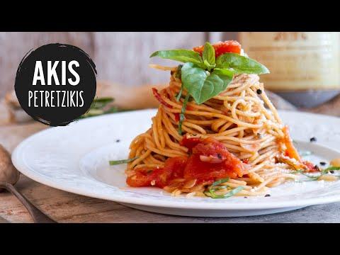 Classic Tomato Spaghetti | Akis Petretzikis Kitchen