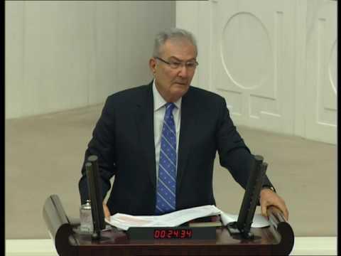 Deniz Baykal'ın Anayasa Değişikliği Teklifi hakkındaki TBMM Genel Kurul konuşması
