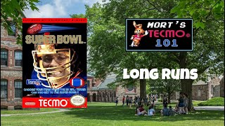 Mort's Tecmo 101 Video Series - Long Runs