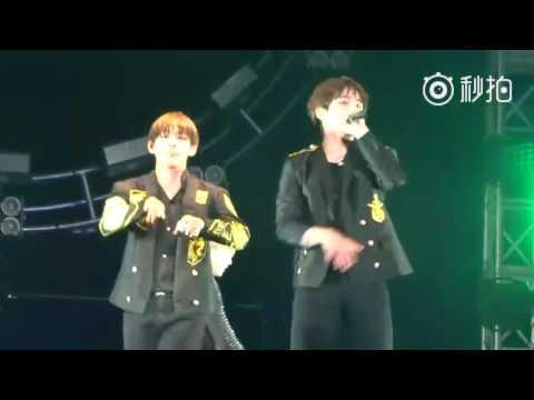 [FANCAM] [160702] BTS concert in Nanjing - Attack on Bangtan