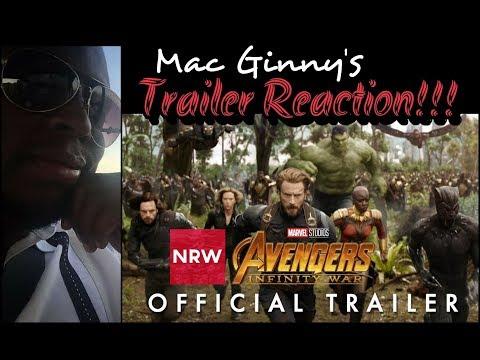 NRW: Comedian Mac Ginny's Avengers: Infinity War Trailer Reaction! #NewReleaseWednesday #NRW
