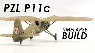 Video Mirage Hobby PZL P11c Build & Review - 1:48 Scale Model download MP3, 3GP, MP4, WEBM, AVI, FLV Juli 2018