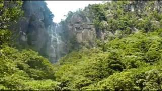 宮崎県延岡市行縢町 日本の滝100選 行縢(むかばき)の滝