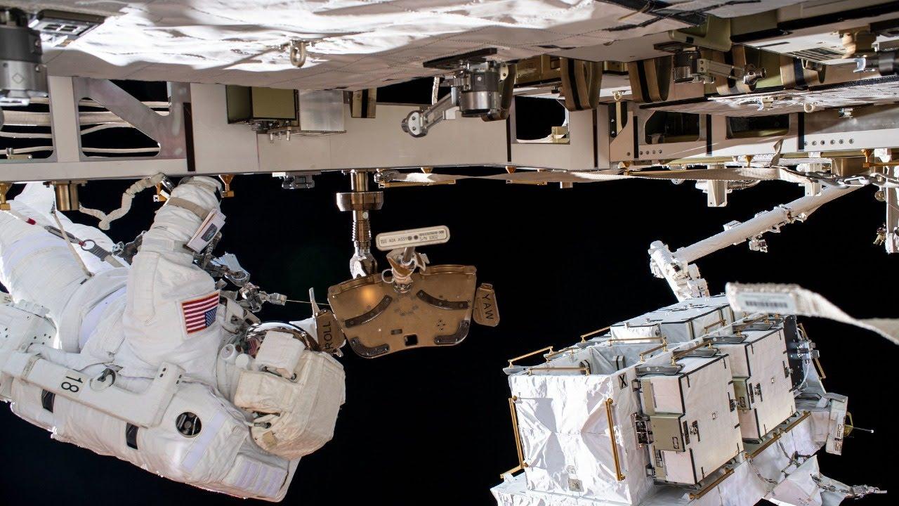 Spacewalk Outside the International Space Station - NASA
