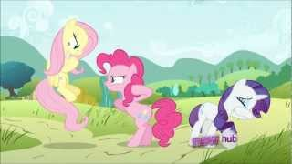 Fluttershy makes Pinkie Pie and Rarity Cry - My Little Pony