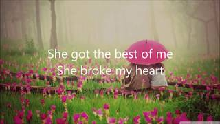 Luke Combs - She Got the Best of Me (Lyrics)