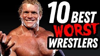 Top Ten Best Worst Wrestlers! Going In Raw Countout!