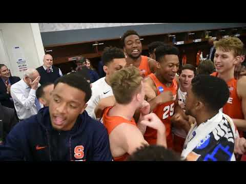 Braedon Bayer gets honor of moving Syracuse basketball forward in bracket (video)