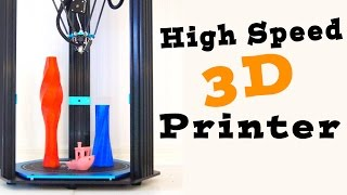 HUGE Delta 3D Printer - TEVO Delta (Little Monster) Full Review