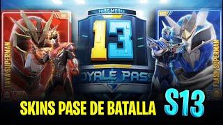 ¡SKINS DEL PASE DE BATALLA TEMPORADA 13 DE PUBG MOBILE! ARMAS DE LABORATORIO Y MAS