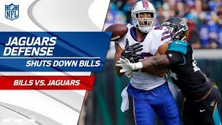 Jags Defense Holds Buffalo to 3 Points in the Playoffs! | Bills vs. Jaguars | Wild Card Player HLs
