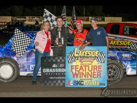 FIRST EVER FEATURE WIN AT LAKESIDE SPEEDWAY!!!!